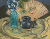 Still Life-Black Pot and Fan